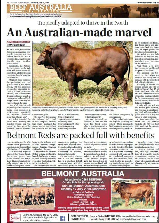 An Australian-made marvel April 2018 media release
